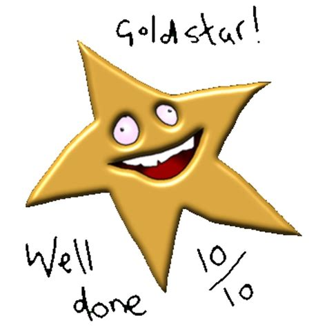 Gold Star Meme - quot gold star well done 10 10 meme quot posters by introvertd