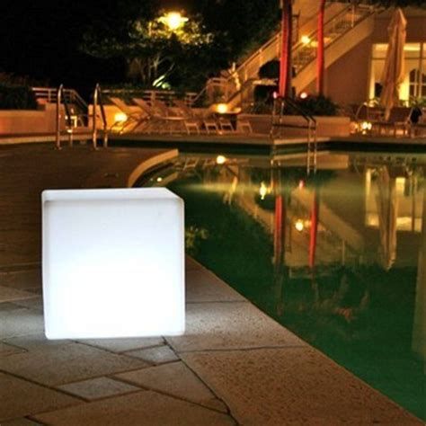 outdoor led light cube gift search