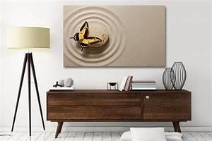 Tableau Triptyque Mural : tableau d co papillon zen izoa ~ Teatrodelosmanantiales.com Idées de Décoration
