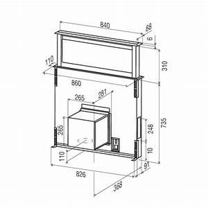 Hotte Moteur Déporté : hotte aspirante a moteur deporte 6 hotte tiroir plan de ~ Premium-room.com Idées de Décoration