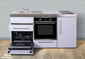 Mini Lave Vaisselle Conforama : mini cuisine avec frigo l v four et induction mpbgs 170 stengel ~ Melissatoandfro.com Idées de Décoration