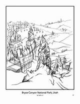 Coloring Park Bryce National Pages Parks Harper Canyon Books Drawing Nation Findyourpark Designlooter Into Template 696px 71kb sketch template