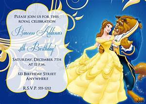 beauty and the beast birthday invitation With beauty and the beast wedding invitation template free