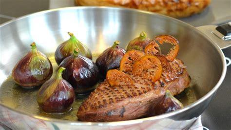cuisiner magret de canard a la poele magret de canard et figues fraîches à la poêle butternut