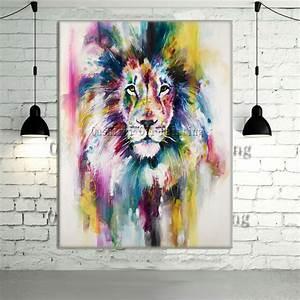Animaux Décoration Intérieure : achetez en gros lion photos couleur en ligne des grossistes lion photos couleur chinois ~ Teatrodelosmanantiales.com Idées de Décoration