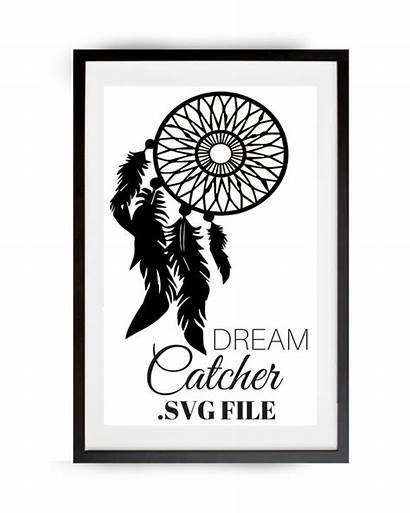 Catcher Dream Svg Dreamcatcher Clipart Clip Vector
