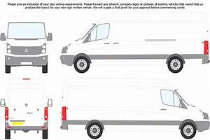 glazing vans volkswagen crafter With van sign writing templates