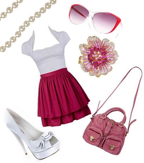 Pretty In Pink  Summer Outfits | Rhetteoric