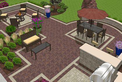 top rated   patio design software tool  design ideas building plans patio design