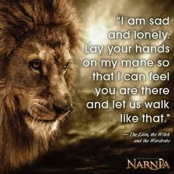 Aslan in Narnia Lion Witch and the Wardrobe Quotes
