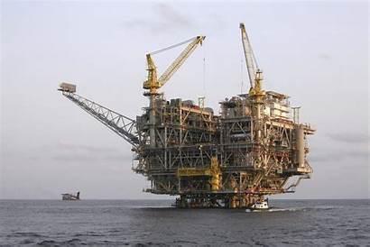 Offshore Platform Oil Angola Coast Africa West