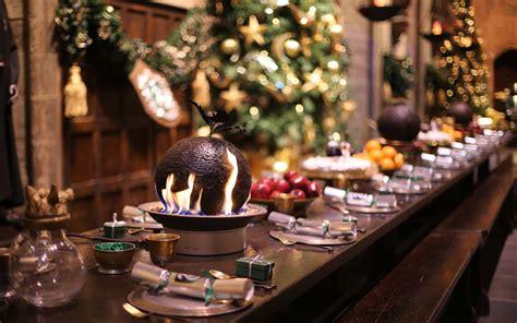 eat  christmas feast  attend  yule ball