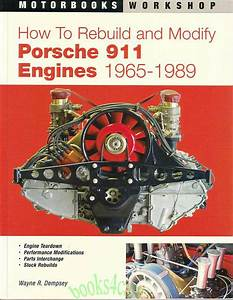 Porsche 911 Engines Manual Book How To Rebuild Modify