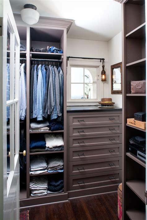 stylish mens walk  closet ideas hgtv