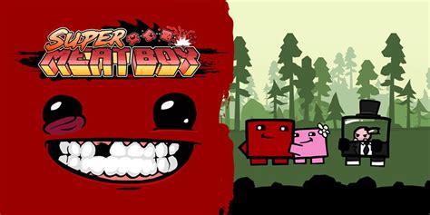 super meat boy programas descargables wii  juegos