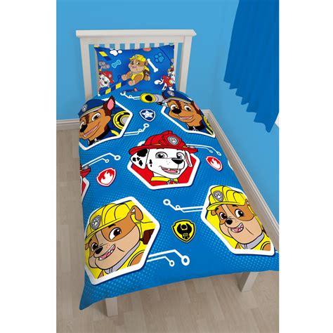 chambre barbapapa pat patrouille parure de lit housse de couette