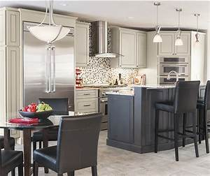 light gray kitchen design decoration With best brand of paint for kitchen cabinets with orange candle holder