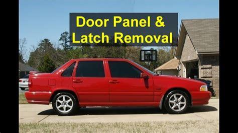 volvo   door panel removal door latch removal