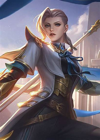 Legends Mobile Silvanna Characters Wallpapers Heroes Chaque