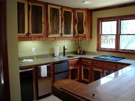 cedar kitchen cabinets ideas rustic kitchen cabinets