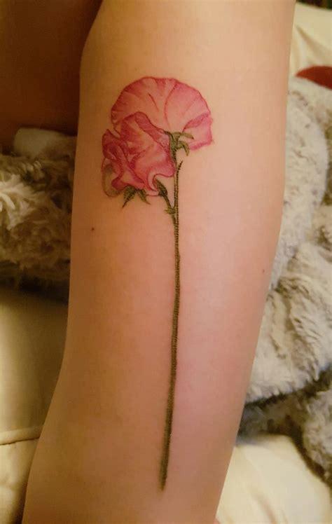 sweet pea tattoo tatoo sweet pea tattoo