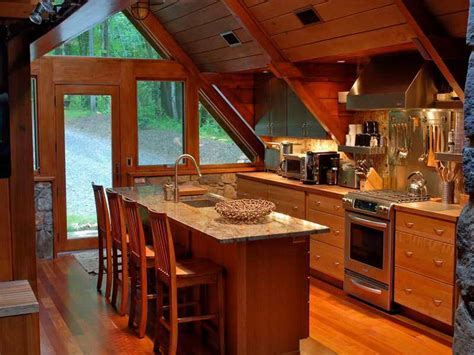 Log Cabin Kitchen Decorating Ideas by Cabin Style Decorating Ideas Studio Design Gallery