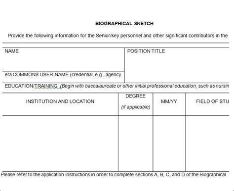 bio template 25 biography templates doc pdf excel free premium templates