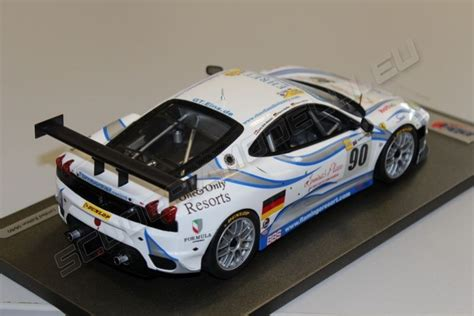 Never before has a 1,000bhp car possessed the capacity to flatter inexperienced hands. BBR Models 2008 Ferrari FERRARI F430 GT2 - 24h Le Mans 2008 #90 - White