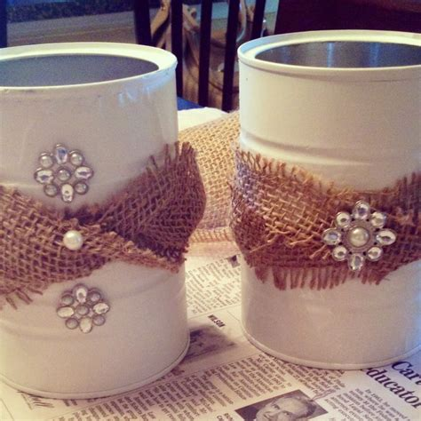 Outdoor spring & summer craft idea :: Pinterest plastic coffee can crafts | Coffee can crafts, Plastic coffee cans, Can crafts