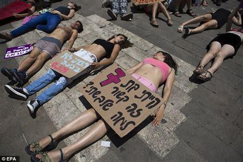 Women shed their clothes for Jerusalem 'SlutWalk' protest ...
