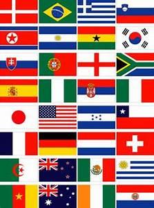 Wm 2018 Flaggen : fussball wm 2010 in s dafrika alle 32 wm teilnehmer ~ Kayakingforconservation.com Haus und Dekorationen