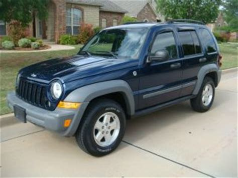 navy blue jeep liberty cars trucks jeep web museum