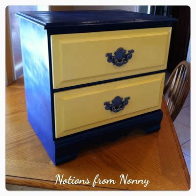 Notions From Nonny Relic To Fabulous Refurbishing An Old Night Stand