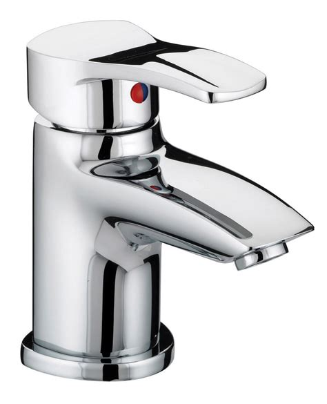 Compact Sinks by Bristan Capri Basin Mixer Tap With Pop Up Waste Cap Bas C