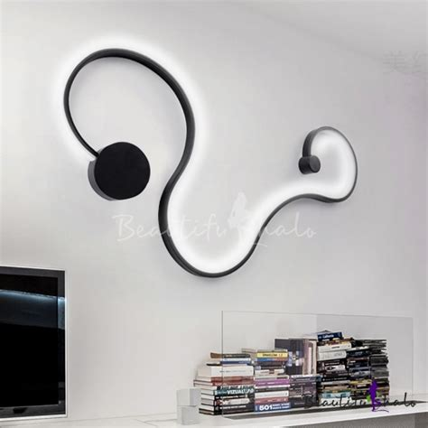 Led Lights For Room Philippines by Modern Minimalist Aluminum Curl Wall Light Led 30 31 Quot