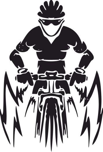 mountain bike vector  vector cdr  axisco