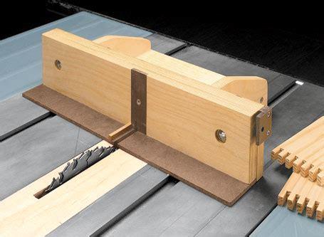 adjustable box joint jig woodsmith plans