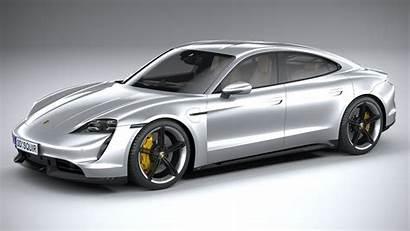 Porsche Taycan Models Turbosquid Cgtrader Squir