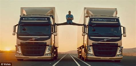 the volvo commercial rob ford appears in spoof van damme volvo advert doing the