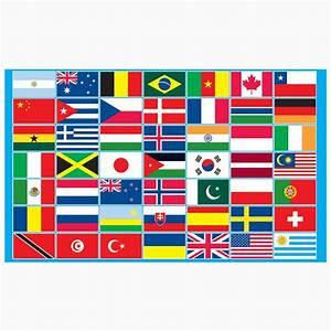 Multi Countries Display Flag Peeks