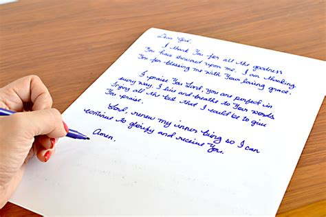 send a letter how to write a prayer letter to god 11 steps