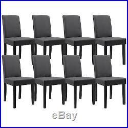chaise haut dossier salle a manger 8x en casa chaises dossier haut salle à manger gris foncé