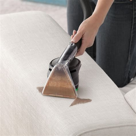 Cleaning Upholstery by Hoover Vacuum Power Scrub Deluxe Carpet Floor Upholstery