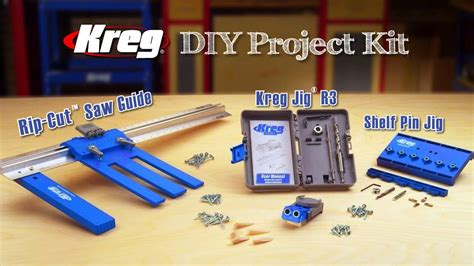 kreg diy project kit youtube
