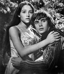 Pin Still Of Olivia Hussey And Leonard Whiting In Romeo ...