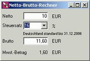 Brutto Netto Rechner Rechnung : brutto netto rechner 1 download ~ Themetempest.com Abrechnung