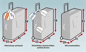 aircraft cabin luggage size lufthansa emirates and qatar airways set new bag size