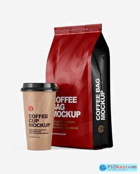 Whether you own a coffee shop, a restaurant. Matte Bag with Coffee Cup Mockup 64769 » Free Download ...