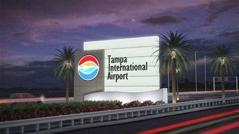 tampa international airports   feature  sign