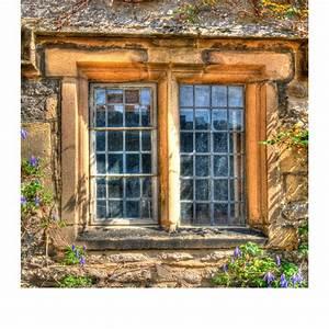 Rustic, Cottage, Window